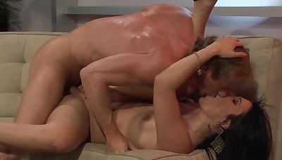 Milf gives head then fucks hard in exclusive scenes