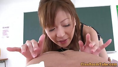 Hot japanese lady hardcore sex video - POV style porn