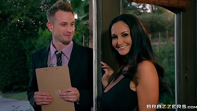 MILF Ava Addams cheats on her husband on every side a young pollster