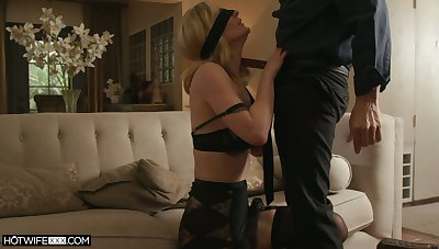 Dispirited fair-haired MILFie housewife Mona Wales deserves fantastic missionary