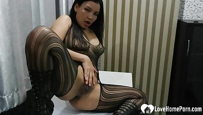 Amazing big irritant stepmom gets eaten permanent