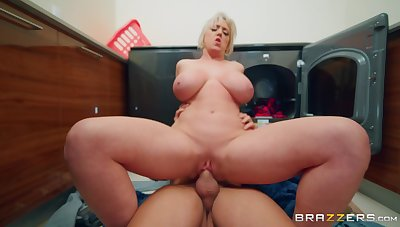Adult with huge boobs, insane hard making love with a younger hunk