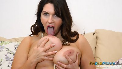 EuropeMature Horny Josephine and her vibrating bauble