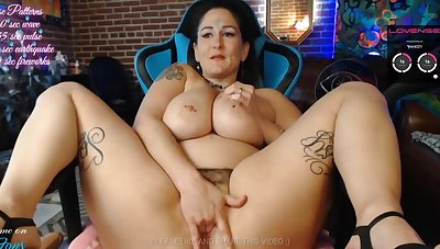 Dirty BBW Maw Squirts Cum All Over