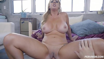 Young lad cement whole cock everywhere mommy's cramped vag