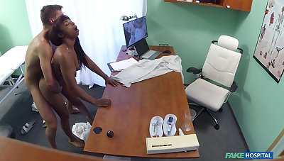 Naked malicious filmed in secret during hard sex with say no to physician