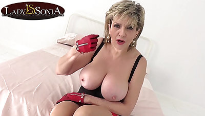 On the other hand hanker will you last with big tit mature Little one Sonia?