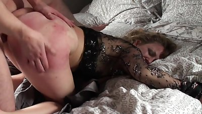 Mature loads her pain in the neck and pussy give young nephew's dick