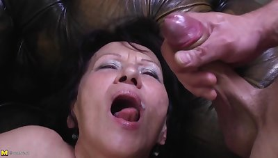 Young Pervert Busts his Load in Greeedy Frowardness be useful to GILF Kataline