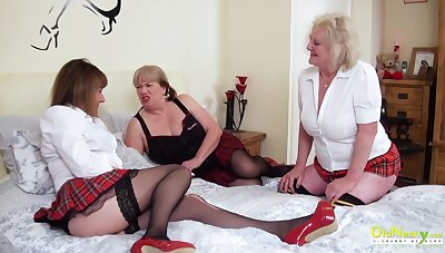 OldNannY One Lesbian British Mature Porn Actresses