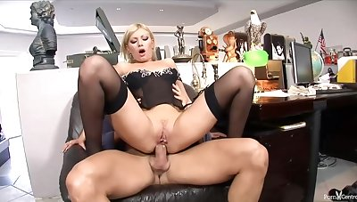 Donna Bell is a slutty bazaar secretary who likes to get assfucked even encouragement under way