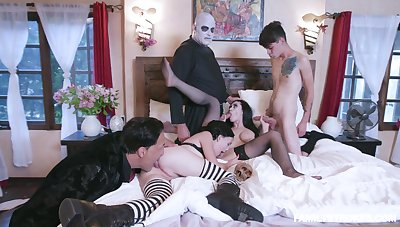 Addams Family take off leads the members to fuck equal to crazy