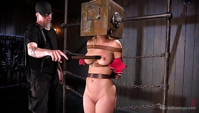 Submissive chick here big tits, first time dominated as a result roughly