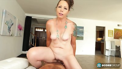 nasty GILF Brandy Peters amazing coitus instalment